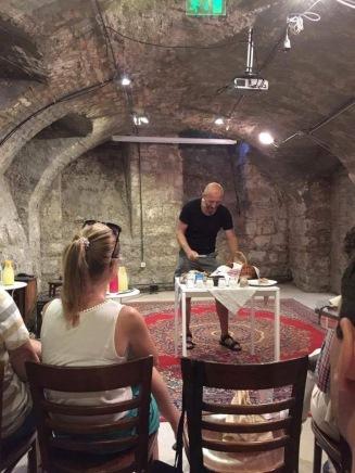 Vajda Józsi előadása a kovászos kenyérről