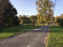 A ház előtti út