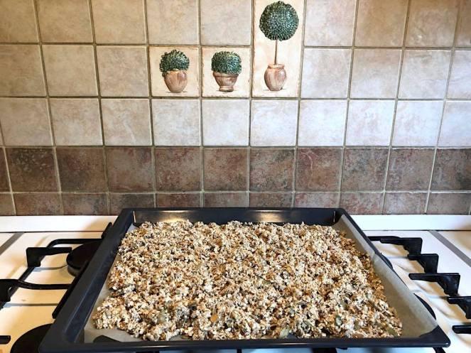 granola recept péklány
